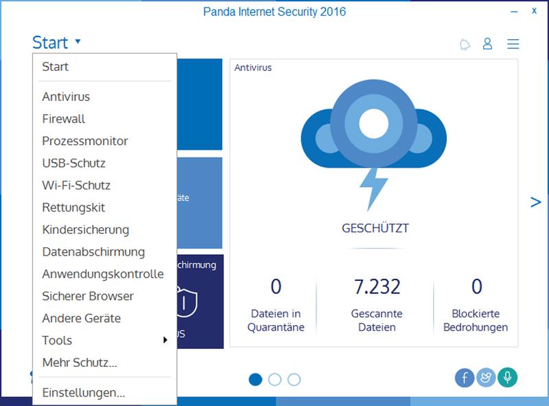 Panda Internet Security 2016 - 3 User / 12 Monate [Online Code] - 3