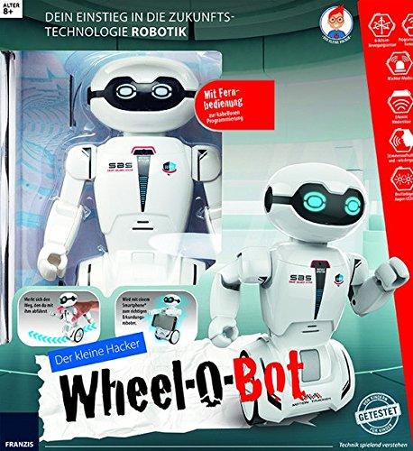 Der kleine Hacker: Wheel-O-Bot: Dein Einstieg in die Zukunftstechnologie Robotik | Mit Fernbedienung zur kabellosen Programmierung | Geschenkidee par Thomas Riegler