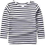 ggudd Niño Manga Larga Camiseta A Rayas Elástica Ropa por 2-7 años