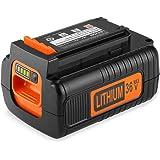 Energup 36V 2.5Ah Li-ion BL20362 Ersatz Akku für Black & Decker 36V BL20362 LBX2040 LBX36 LBXR36 LBXR2036 Black+Decker 36V-Geräten