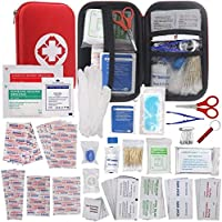 Erste Hilfe Set 175 Teilen WINGLESCOUT Mini First Aid Kit Hard Case Waterproof Include Warm Blanket, Medizinische... preisvergleich bei billige-tabletten.eu