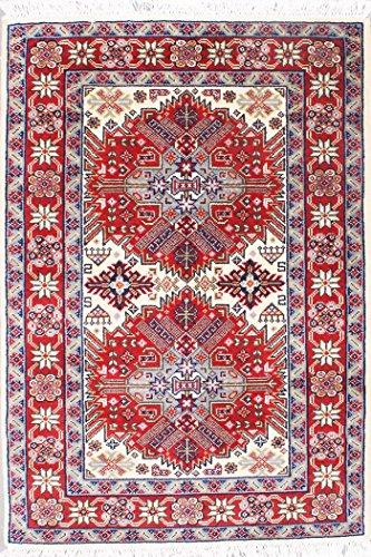 Arts of India indisch Handgefertigt Medaillon Design Rost Wolle Handgeknüpft Jaipur Royal 3X5 Bereich Teppich -
