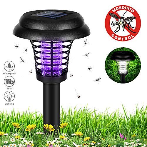 Super Bukm Solarleuchten Garten, Mückenschutz Insektenschutzmittel Solar... @KF_74