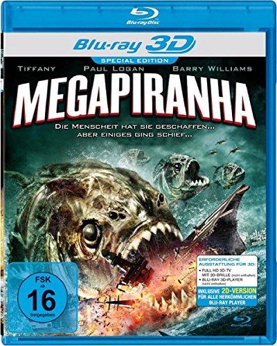Megapiranha [3D Blu-ray] [Special Edition]