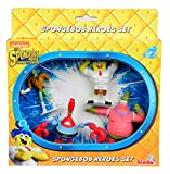 Simba Spongebob Movie Action Figure Playsets (Pack of 4)
