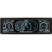 Favoto Autoradio Bluetooth Stereo 60 * 4W Radio Lecteur MP3 Joueur de Voiture avec Soutient USB/Micro SD/AUX/Bluetooth/Microphone Intégré/Télécommande, Manuel PDF en Français