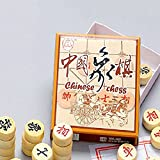 SwirlColor Holz Chinesisches Schach, pädagogisches Spielzeug für Erwachsene...