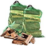 Tigerbox® 25KG Extra Hot High Quality Seasoned Dried Softwood Wooden Logs for Firewood, Open Fire & Stoves