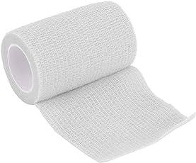 TYESHA 7.5cm × 5m garza elastica BANDAGE, self-adherent Cohesive tape, primo soccorso benda trattamento sanitario–traspirante, sicura ed efficace