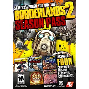 Borderlands 2 Season Pass (Mac) (Online Code) [Mac Code – Steam]