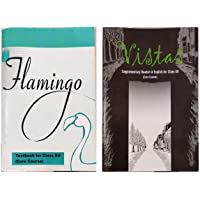 NCERT Textbooks in English for class 12 - Flamingo and Vistas - 12074 &12075