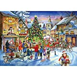 No.6 Achats de Noël (Christmas Shopping) - Puzzle de 500 Pièces
