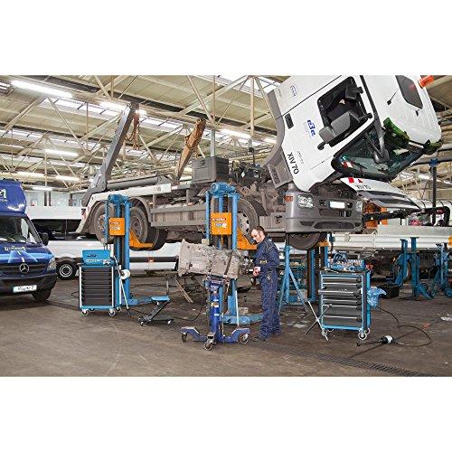 Hazet Werkstattwagen Assistent mit Sortiment, Anzahl Werkzeuge: 296, 1040 x 817 x 502 mm, 1 Stück, 179-8-2700-163/296 - 3