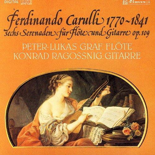 Ferdinando Carulli/ Sechs Serenaden Fur Flote Und Gitarre Op. 109