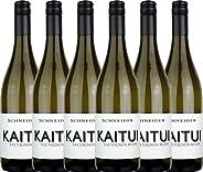 VINELLO 6er Weinpaket Wei?wein - Kaitui Sauvignon Blanc 2018 - Markus Schneider mit Weinausgie?er | trockener Wei?wein | deut