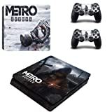 Metro Skin Sticker for Sony Playstation 4 (Slim) and Remote Controllers