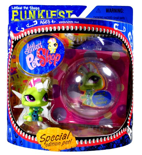 hasbro-year-2007-littlest-pet-shop-special-edition-pet-punkiest-series-bobble-head-pet-figure-set-pu