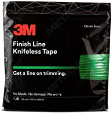 Knifeless Finish Line Vinyl Wrap Cutting Tape 50m Roll for Stripes and More (164 Ft)