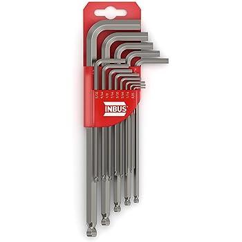 Innensechskant Schlüssel 30-tlg Zoll Werkzeug Satz Sechskant für Inbus Schrauben