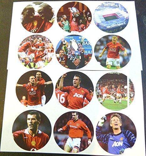 12er Packung Manchester United FC, Serie 2, 51mm/2