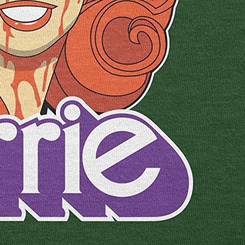 NERDO - Carrie - Herren T-Shirt Flaschengrün