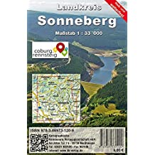 Landkreis Sonneberg: Rad- und Wanderkarte