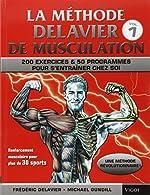 La Methode Delavier de musculation chez soi de Frédéric Delavier
