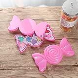TOYANDONA Girl Princess Sweet coffee Toy Color Mini Cosmetic Box Game House