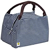 Yellow WeavesTM Insulated Travel Lunch/Tiffin/Storage Bag for Office, College & School