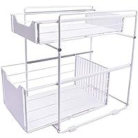 Paniers de rangement de cuisine multi-couches, paniers de rangement de tiroir de rail, dans les armoires, les éviers, le…