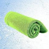 NewPI Asciugamano Microfibra, Asciugamano Raffreddamento Rapido e Traspirante, Istantaneo Freddo Ghiaccio Asciugamano Leggero, Sportivo Asciugatura Rapida Gym Sciarpa Towel per l'escursione Golf Corsa Yoga.