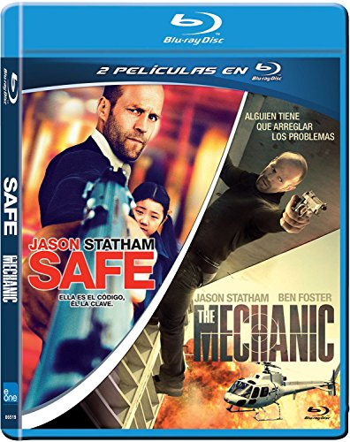 Pack: Safe + The Mechanic [Blu-ray] 61QzZJWZbTL