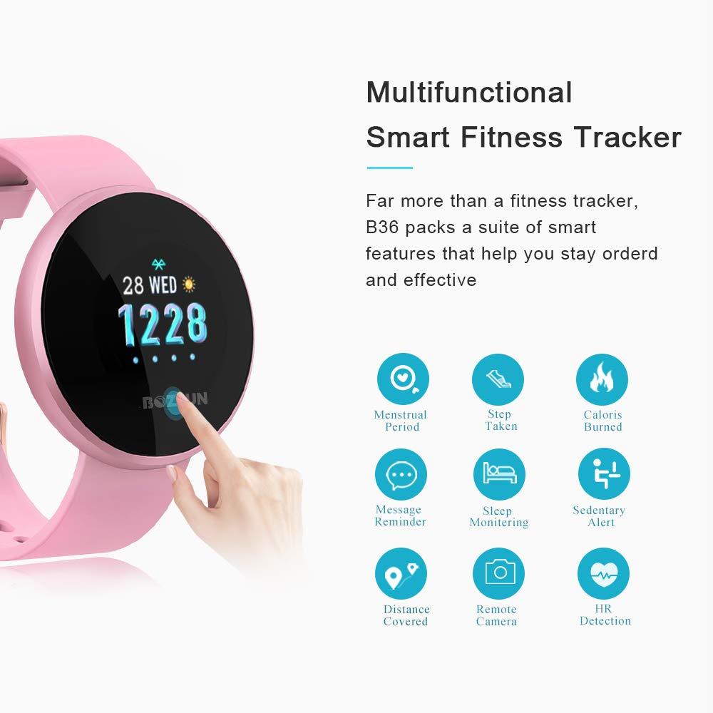 b8a5880a3b3d Reloj Inteligente BOZLUN para Mujeres con Monitor de Actividad física ...