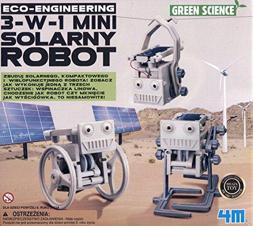 4M 3-in-1 Eco Engineering Mini Solar Roboter Spielzeug