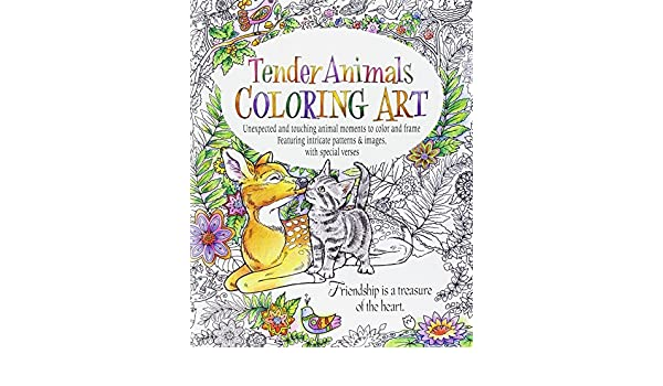 Buy Tender Animals Coloring Art Book Online At Low Prices In India