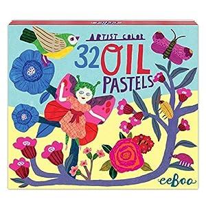 eeBoo lápices Pastel para niños, EB-pasbuf