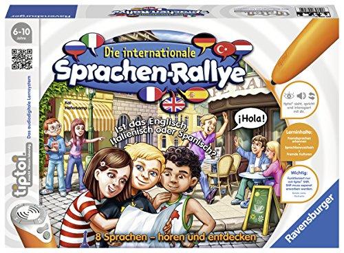 Ravensburger 00705 - tiptoi Die internationale Sprachen-Rallye