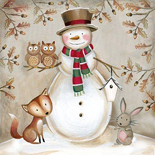 ambiente-tovaglioli-in-carta-dinner-party-ca-33x-33cm-christmas-woodland-snowman