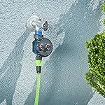 Royal Gardineer Bewässerungstimer: Elektronische Bewässerungsuhr, bis 7 Tage (Bewässerungsschaltuhr)