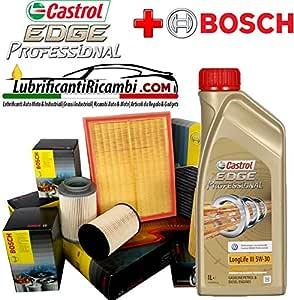 Inspektionsset Mit 6 L Motoröl Castrol Edge Professional 5w 30 4 Original Filter Bosch F026407072 0450906457 1457433589 1987432424 Auto