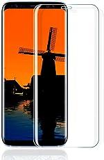 Galaxy S8 Panzerglas Schutzfolie,Samsung Galaxy S8 3D Anti-Kratzen Displayschutzfolie Vollständiger 9H Displayschutz Gehärtetem Glasfolie Für Samsung S8