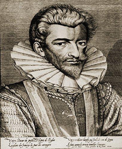 The Poster Corp Ken Welsh/Design Pics - Henri De Lorraine Duc De Guise 1550-1588. from An Engraving by Le Blond Photo Print (33,02 x 40,64 cm) -