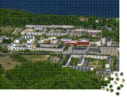 Neu Zippendorf - Puzzle 1000 Teile mit Bild von oben - 2