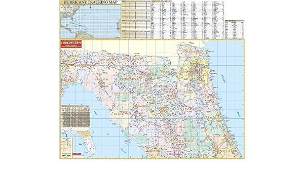 Map Northeast Florida.Amazon In Buy Florida Northeast Regional State Wall Maps