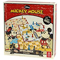 ASS-Altenburger-22500201-Mickey-Mouse-Spielesammlung-Retro-Edition ASS Altenburger 22500201 – Mickey Mouse Spielesammlung, Retro Edition -