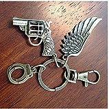 Die besten Freund-Engels-Flügel Schlüsselanhänger - Christian Schlüsselanhänger, Schlüsselanhänger, Engel Flügel Schlüsselanhänger, Hand Pistole Bewertungen
