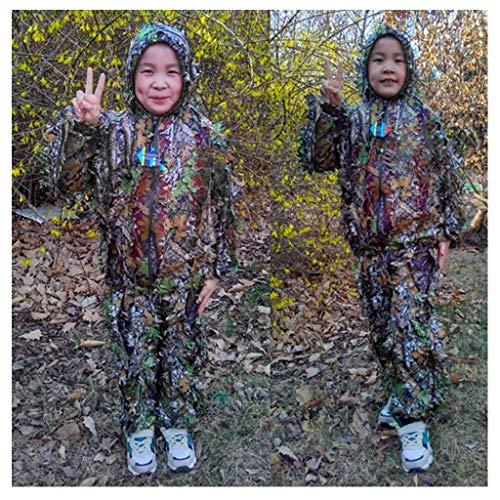 Camouflage-Bekleidung für Kinder, Dschungel-Tarnung Geely Kleidung Requisiten Kleidung Fotografie Atmungsaktiv Nicht verformt Armee Fan Tarnkleidung
