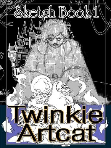 twinkie-artcat-sketch-book-1-english-edition