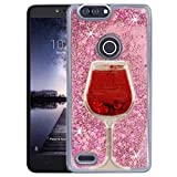 SUPZY Compatible Phone Case Z982 (Rose Gold) Wind Glass