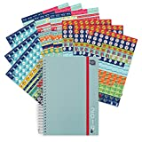 Boxclever Press 2019 Life Book Diary with Bumper Pack of Reminder Stickers (1152 Stickers). Week-to-View Academic A5 Diary, Large Space for Each Day. Starts straightaway Until December 2019.